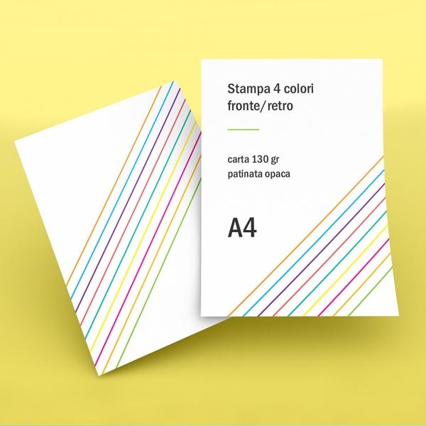 A4 stampa fronte/retro